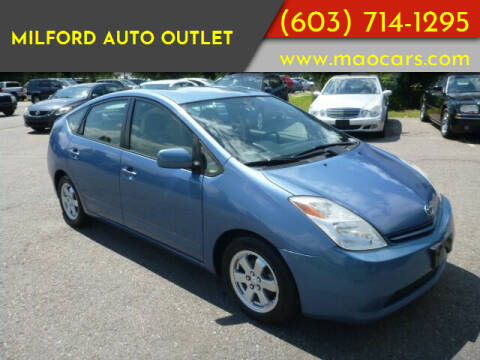 2005 Toyota Prius for sale at Milford Auto Outlet in Milford NH