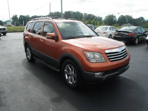 2009 Kia Borrego for sale at Morelock Motors INC in Maryville TN