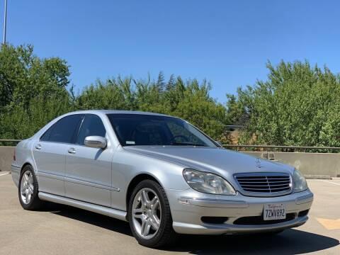 2002 Mercedes-Benz S-Class for sale at AutoAffari LLC in Sacramento CA