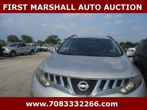 2009 Nissan Murano for sale at First Marshall Auto Auction in Harvey IL