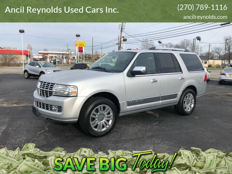2013 Lincoln Navigator for sale at Ancil Reynolds Used Cars Inc. in Campbellsville KY