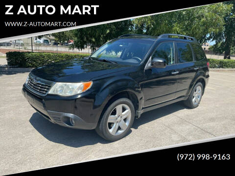2009 Subaru Forester for sale at Z AUTO MART in Lewisville TX