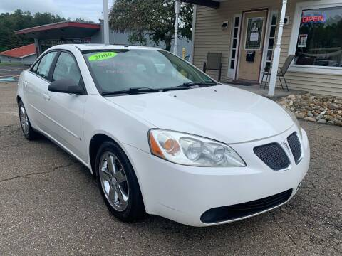 2006 Pontiac G6 for sale at G & G Auto Sales in Steubenville OH