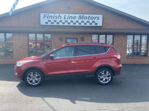 2014 Ford Escape for sale at FINISHLINE MOTORS in Canton OH