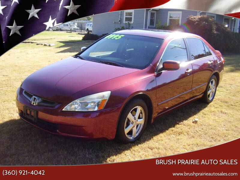 2003 Honda Accord for sale at Brush Prairie Auto Sales in Battle Ground WA