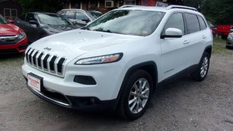 2014 Jeep Cherokee for sale at Select Cars Of Thornburg in Fredericksburg VA