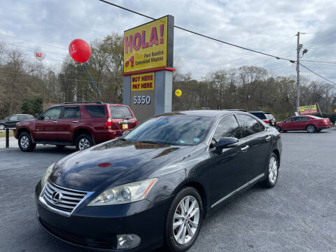 2010 Lexus ES 350 for sale at No Full Coverage Auto Sales in Austell GA