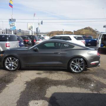 2015 Ford Mustang for sale at Luxor Motors Inc in Pacoima CA