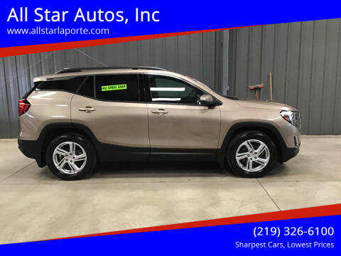 2018 GMC Terrain for sale at All Star Autos, Inc in La Porte IN
