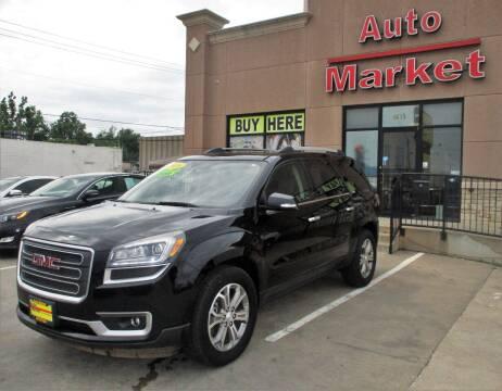 2016 GMC Acadia for sale at Auto Market in Oklahoma City OK