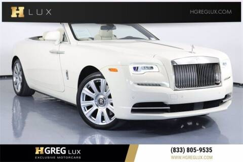 2016 Rolls-Royce Dawn for sale at HGREG LUX EXCLUSIVE MOTORCARS in Pompano Beach FL