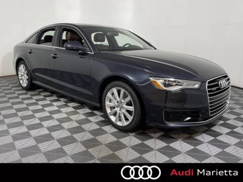 2016 Audi A6 for sale at CU Carfinders in Norcross GA