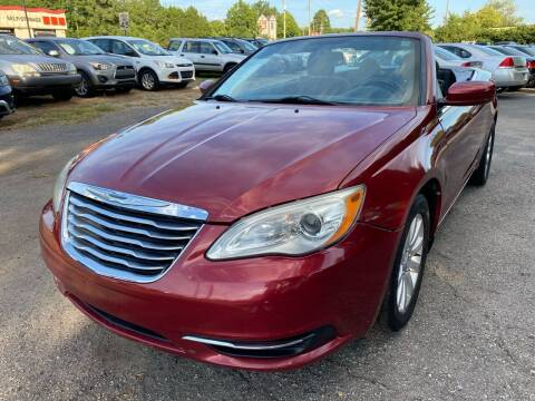 2011 Chrysler 200 Convertible for sale at Atlantic Auto Sales in Garner NC