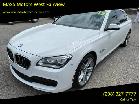 2015 BMW 7 Series for sale at M.A.S.S. Motors - West Fairview in Boise ID