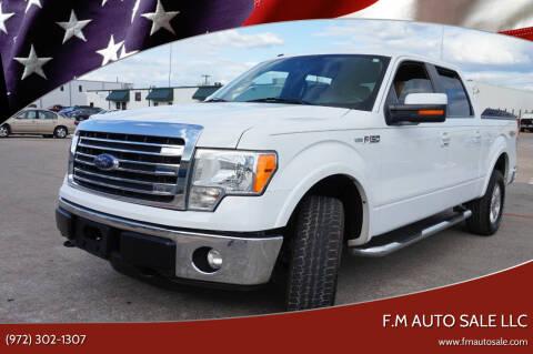 2014 Ford F-150 for sale at F.M Auto Sale LLC in Dallas TX