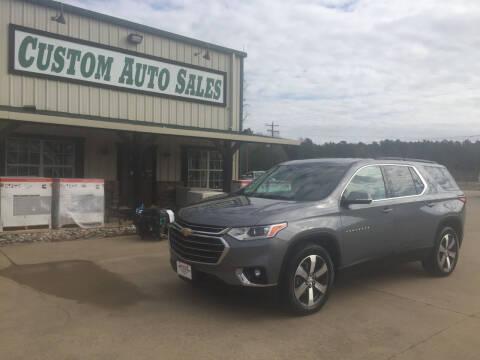 2019 Chevrolet Traverse for sale at Custom Auto Sales - AUTOS in Longview TX