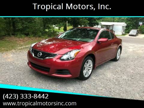 2013 Nissan Altima for sale at Tropical Motors, Inc. in Riceville TN