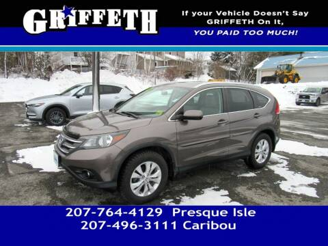 2012 Honda CR-V for sale at Griffeth Mitsubishi - Pre-owned in Caribou ME
