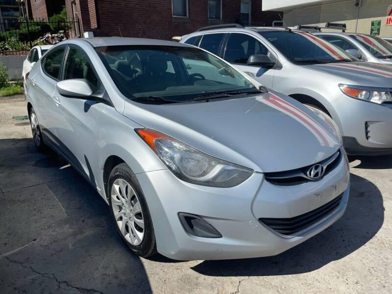 2012 Hyundai Elantra for sale at Capitol Hill Auto Sales LLC in Denver CO