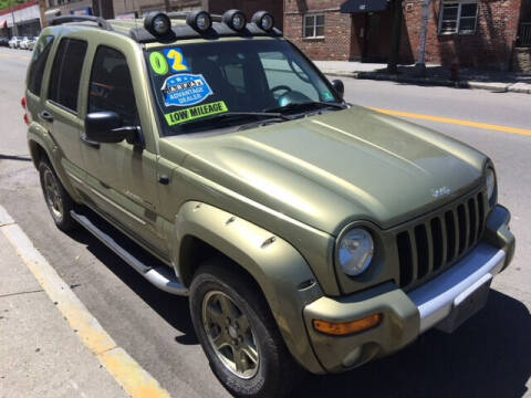 2002 Jeep Liberty for sale at ARXONDAS MOTORS in Yonkers NY