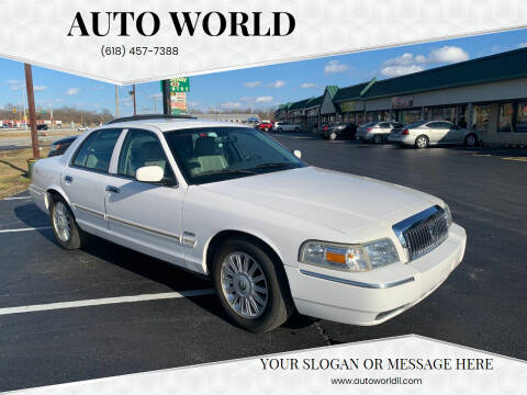 2010 Mercury Grand Marquis for sale at Auto World in Carbondale IL