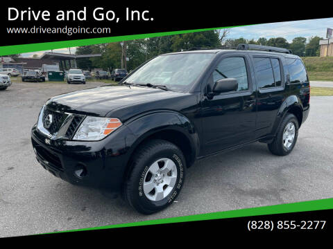 2012 Nissan Pathfinder for sale at Drive and Go, Inc. in Hickory NC