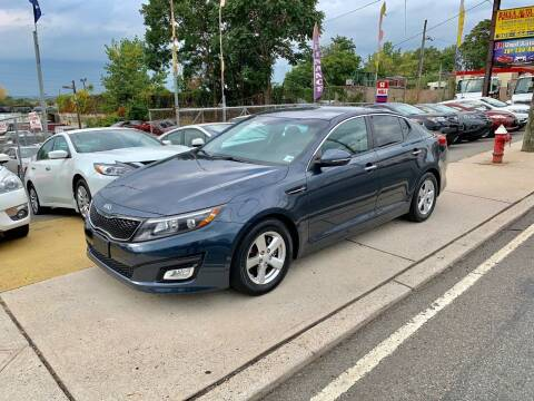 2015 Kia Optima for sale at JR Used Auto Sales in North Bergen NJ