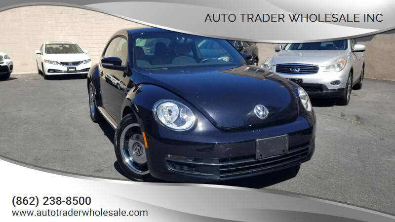 2016 Volkswagen Beetle for sale at Auto Trader Wholesale Inc in Saddle Brook NJ