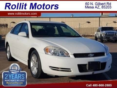 2011 Chevrolet Impala for sale at Rollit Motors in Mesa AZ