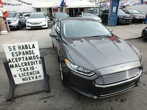 2016 Ford Fusion for sale at Cedano Auto Mall Inc in Bronx NY