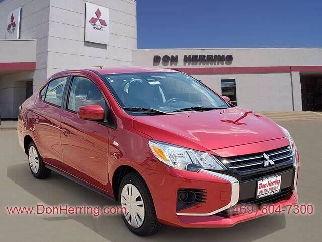 2021 Mitsubishi Mirage G4 for sale at DON HERRING MITSUBISHI in Irving TX