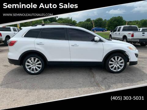2010 Mazda CX-9 for sale at Seminole Auto Sales in Seminole OK