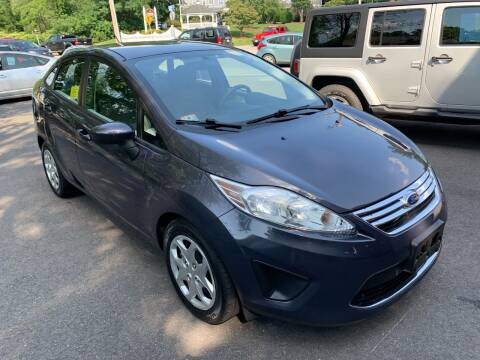 2012 Ford Fiesta for sale at QUINN'S AUTOMOTIVE in Leominster MA