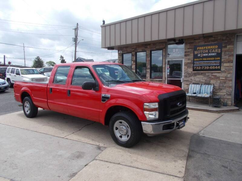 2008 Ford F-250 Super Duty for sale at Preferred Motor Cars of New Jersey in Keyport NJ