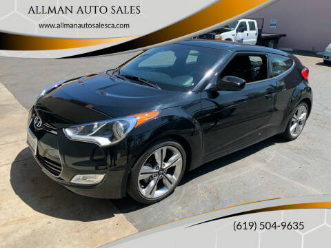 2017 Hyundai Veloster for sale at ALLMAN AUTO SALES in San Diego CA