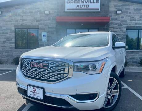 2017 GMC Acadia for sale at GREENVILLE AUTO in Greenville WI
