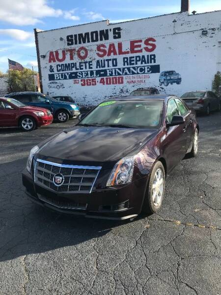 2008 Cadillac CTS for sale at Simon's Auto Sales in Detroit MI