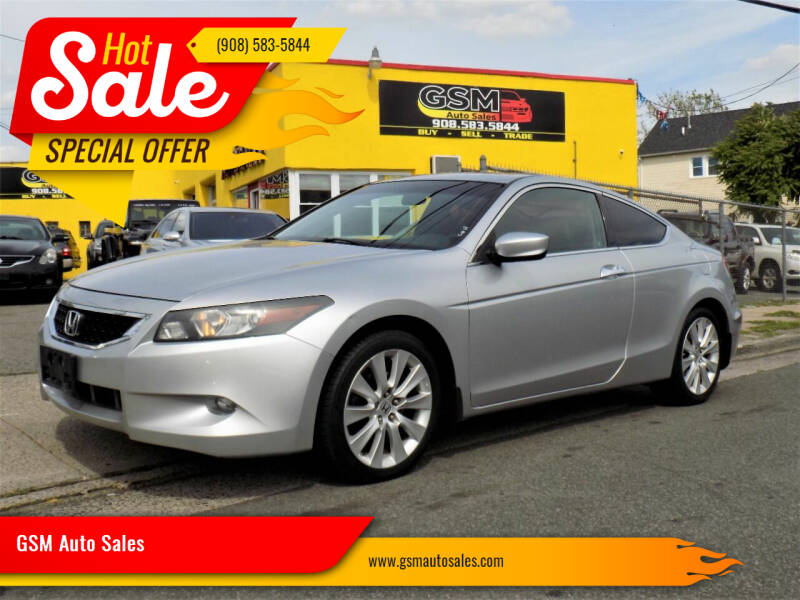 2010 Honda Accord for sale at GSM Auto Sales in Linden NJ