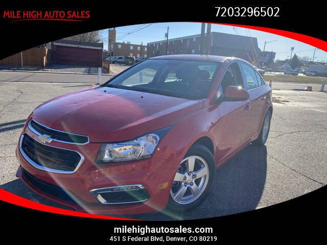 2016 Chevrolet Cruze Limited for sale in Denver, CO