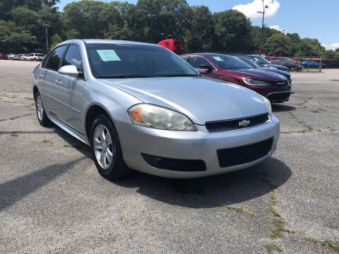 2012 Chevrolet Impala for sale at Certified Motors LLC in Mableton GA