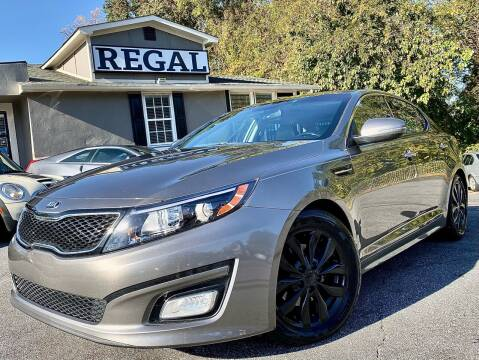 2014 Kia Optima for sale at Regal Auto Sales in Marietta GA