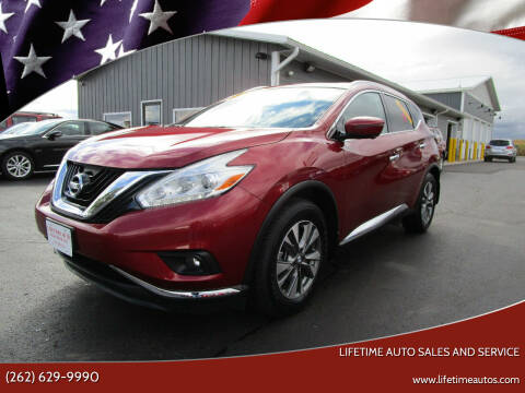 2017 Nissan Murano for sale at Lifetime Auto Sales and Service in West Bend WI