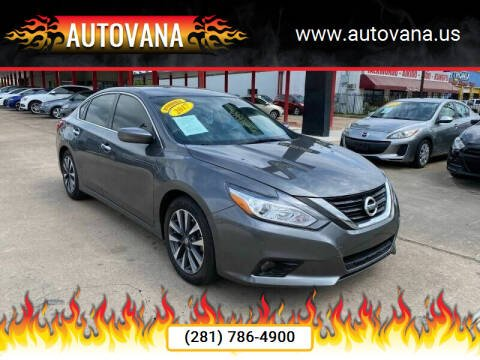 2017 Nissan Altima for sale at AutoVana in Humble TX