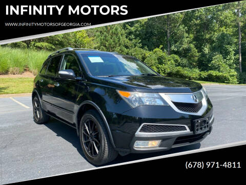 2011 Acura MDX for sale at INFINITY MOTORS in Gainesville GA