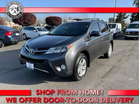 2014 Toyota RAV4 for sale at Auto 206, Inc. in Kent WA