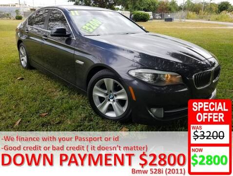2011 BMW 5 Series for sale at AUTO COLLECTION OF SOUTH MIAMI in Miami FL