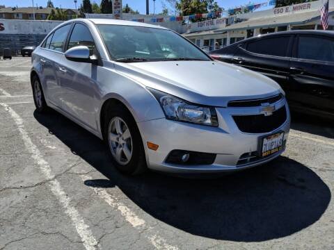 2014 Chevrolet Cruze for sale at Best Deal Auto Sales in Stockton CA