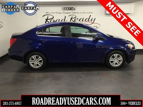 2012 Chevrolet Sonic for sale at Road Ready Used Cars in Ansonia CT