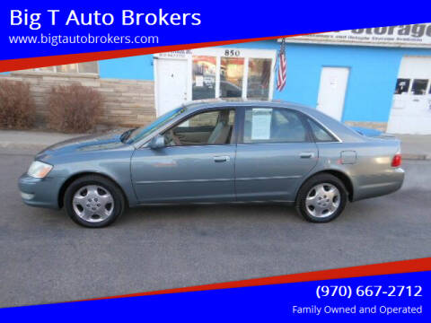 2004 Toyota Avalon for sale at Big T Auto Brokers in Loveland CO