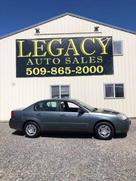 2006 Chevrolet Malibu for sale at Legacy Auto Sales in Toppenish WA